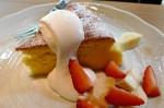 喫茶「野土香」のチーズケーキ