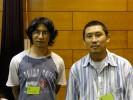 野村和夫さんと佐治さんのお弟子さん
