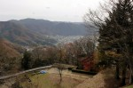 備中松山城本丸からの眺め