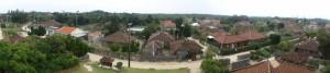 なごみの塔からの景色パノラマ