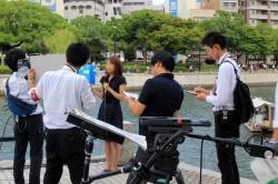 NHKのレポーター