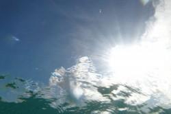 阿波連ビーチ水中