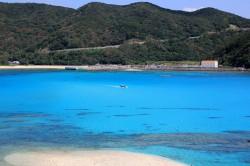 渡嘉敷島離れ島から見た阿波連
