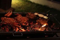 ニライカナイの夕食「バーベキュー」