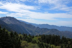 西穂高口展望台からの眺め