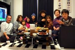 孫の誕生日会
