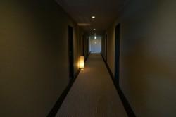 山本小屋ふるさと館の廊下