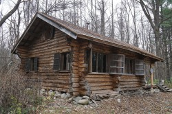 五郎の丸太小屋