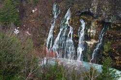 美瑛白金「白ひげの滝」
