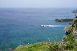 与那国島西崎からの眺め