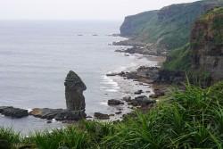 与那国島 立神岩