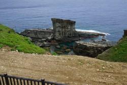 サンニヌ台 軍艦岩