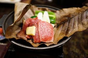 白川郷 山本屋の夕食