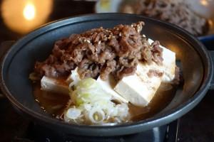 白川郷山本屋の飛騨牛と豆腐