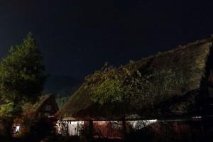白川郷の夜景
