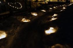 小樽雪あかりの路朝里川温泉会場