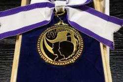 優秀選手賞のメダル