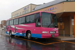 ウトロ行きの斜里バス