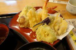 時海の天ぷら定食