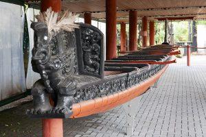 マオリ族の船