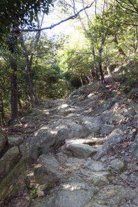 書写山圓教寺への道