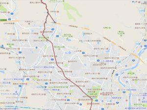 姫路駅から書写山圓教寺への地図