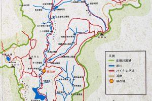 摩耶山へのハイキング道