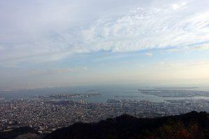 摩耶山掬星台からの景色