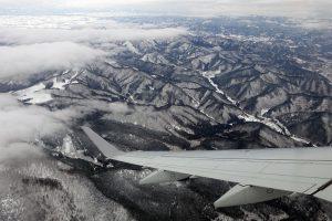 山形県上空
