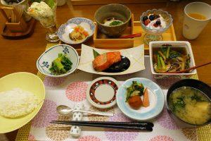 銀山温泉の宿「旅籠 いとうや」の朝食