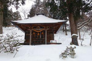 冬の蔵王温泉
