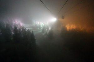 蔵王ロープウェイ樹氷ライトアップ