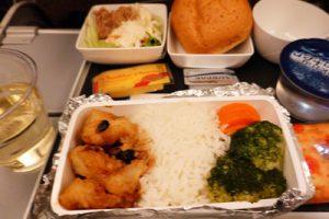 シンガポール航空、機内食