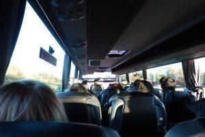 グレートサイツのバスでテカポへ