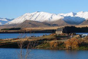 ニュージーランド・テカポ 善き羊飼いの教会