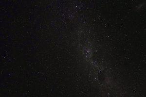 マウントクックの星空