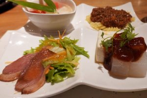 鉄板焼き&ワイン 夢野樹の前菜