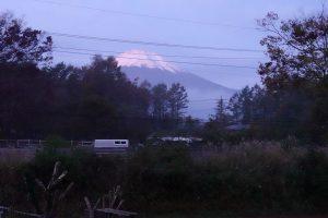 鉄板焼き&ワイン 夢野樹から見る富士山