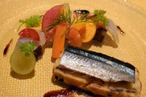 オーベルジュ 銀のテラスの夕食 ケークサル