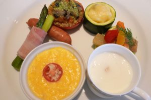 オーベルジュ 銀のテラスの朝食