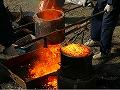たたら製鉄 炉の解体2
